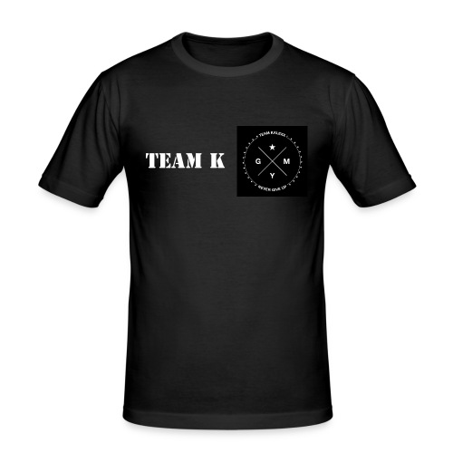 Team K Herren T-Shirt  - Männer Slim Fit T-Shirt