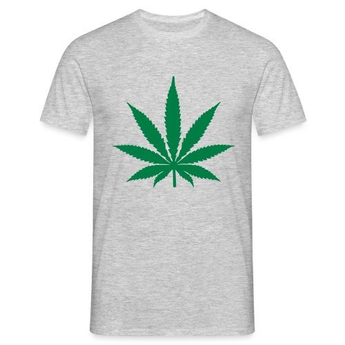 Natürliche Farbe  - Männer T-Shirt