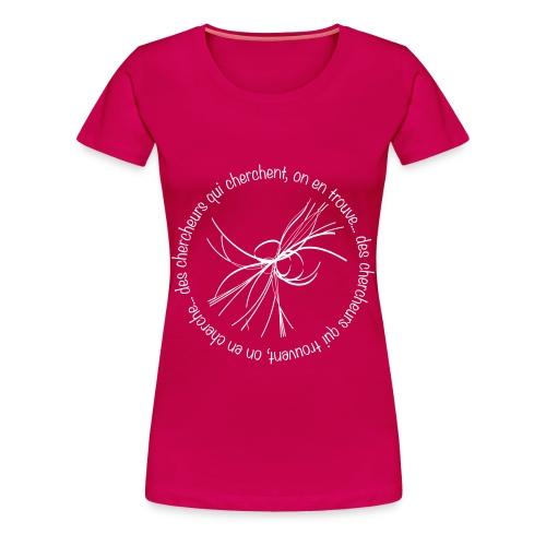 Tee shirt American Apparel Femme, Chercheur, boson de Higgs  - T-shirt Premium Femme