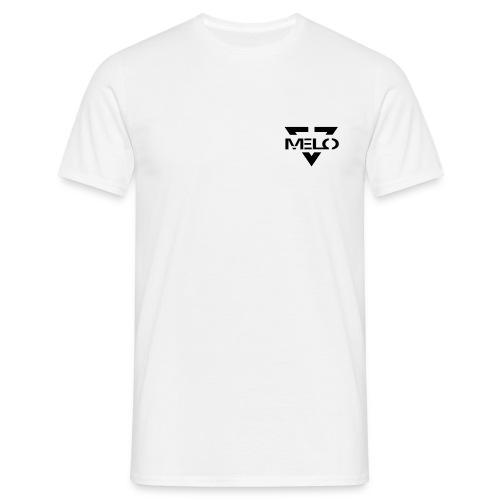 Melo Blanc/Noir Homme - T-shirt Homme