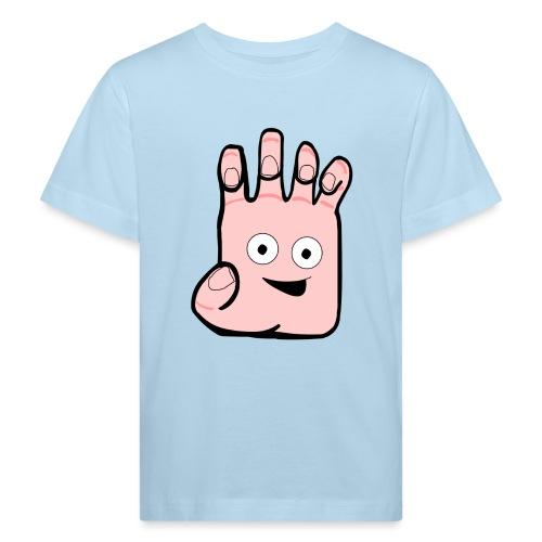 Winky Hand Folded - Kids' Organic T-shirt