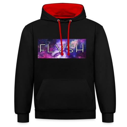 FLVSH Pulli  - Kontrast-Hoodie