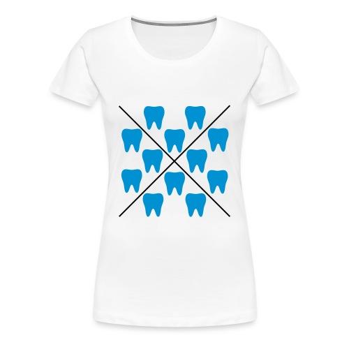 Zähne - Frauen Premium T-Shirt