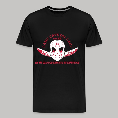 WE ARE GLAD YOU SURVIVED THE EXPERIENCE - Männer Premium T-Shirt