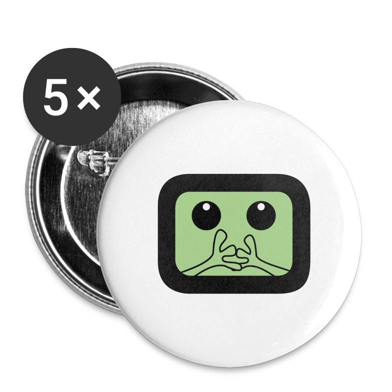 Just a litlle frog - Badge petit 25 mm