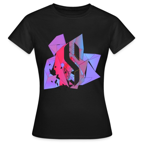Neon pink women T-shirt - Women's T-Shirt