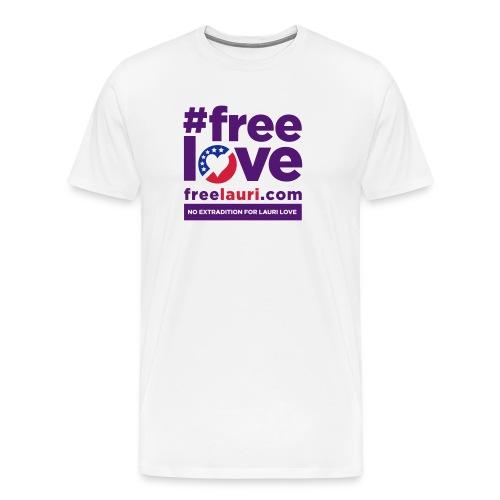 Free Love Men's T-shirt - Men's Premium T-Shirt