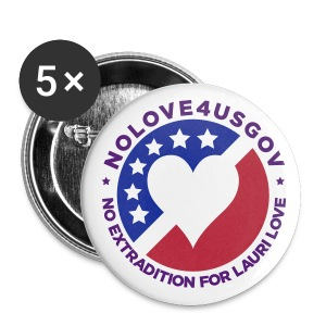 NoLove4USgov Badge - Buttons large 56 mm