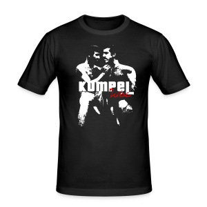 KumpelLiebe / Black / Slim - Männer Slim Fit T-Shirt
