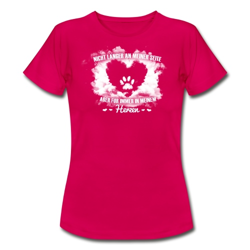 Himmel Girlie - Frauen T-Shirt