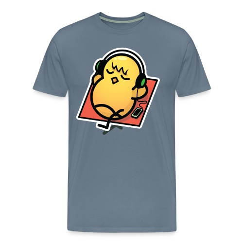 Just Chillin' Duck Men's T-Shirt - Colour - Men's Premium T-Shirt