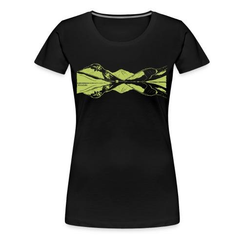 Wasdale view - Women's Premium T-Shirt