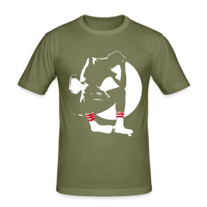 Soxy Men / Khaki / Slim - Männer Slim Fit T-Shirt