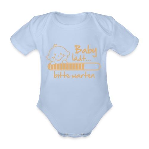 Baby Body pink - Baby Bio-Kurzarm-Body