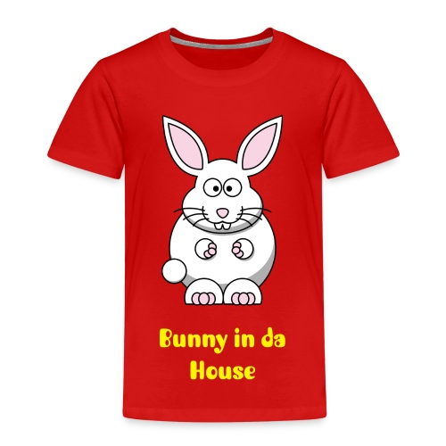 Bunny in da House - Kinder Premium T-Shirt