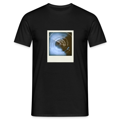 T-shirt Linght-painting Polaroid - T-shirt Homme