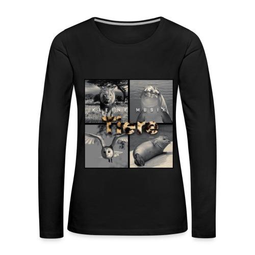 Langarmshirt | Kleine Musik - Frauen Premium Langarmshirt