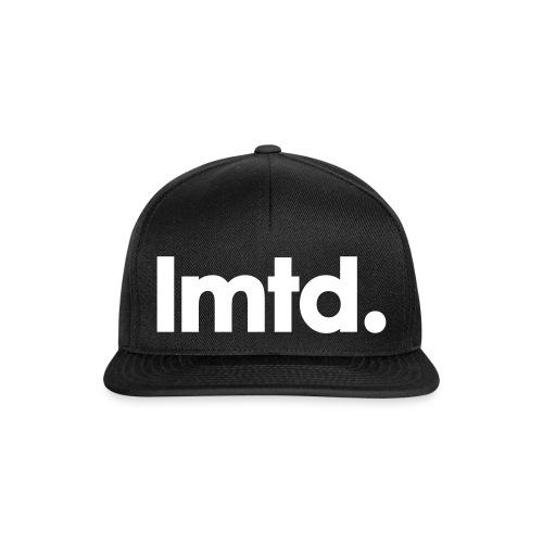 lmtd. snapback - black - Snapback cap
