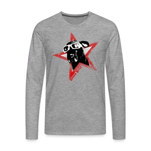 Doggie Style Longarm - Männer Premium Langarmshirt