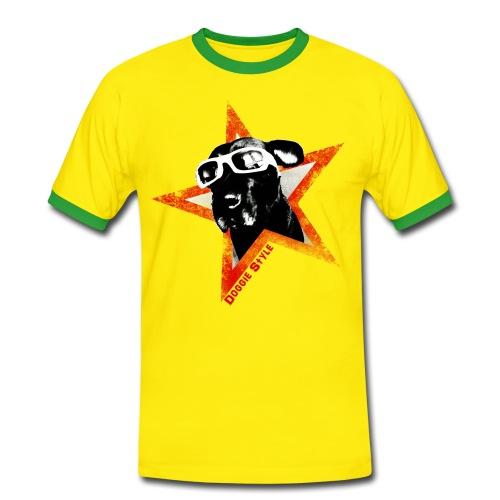 Doggie Style Shirt - Männer Kontrast-T-Shirt