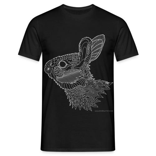 Bright eyed bunny - Men's T-Shirt