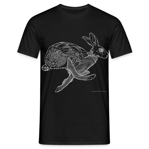 Running hare - Men's T-Shirt
