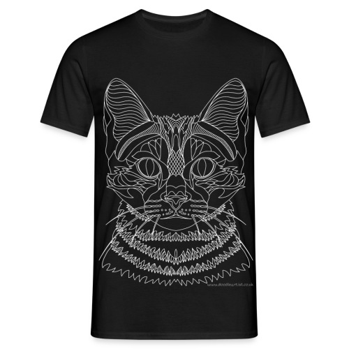 Cat drawing - Men's T-Shirt