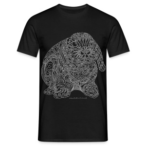 Lop eared rabbit - Men's T-Shirt