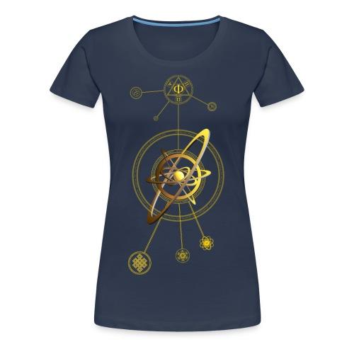 Anu atom - Women's Premium T-Shirt