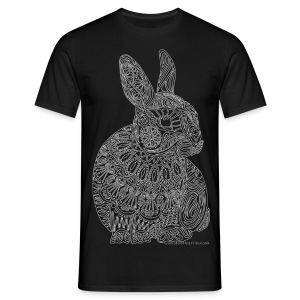 Decorated bunny - Men's T-Shirt