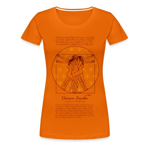 Da vinci in bed - Women's Premium T-Shirt