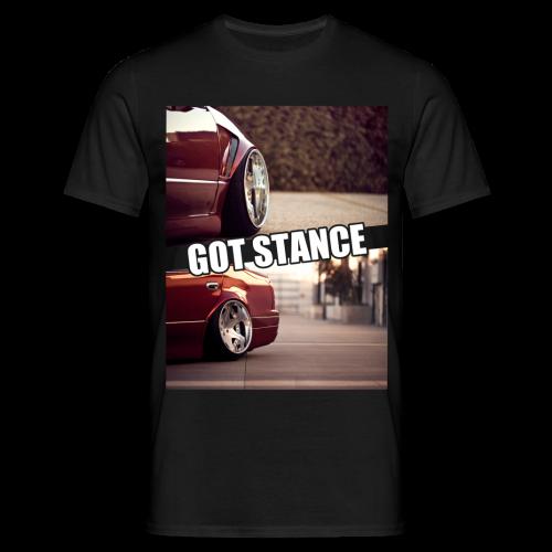 GOT STANCE Theme Shirt white - Männer T-Shirt