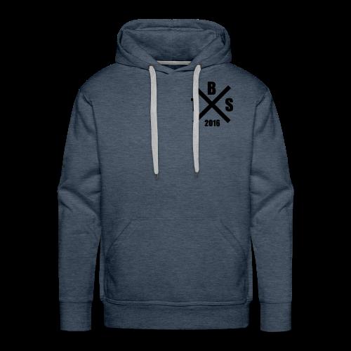 B T S Logo Hoody - Männer Premium Hoodie