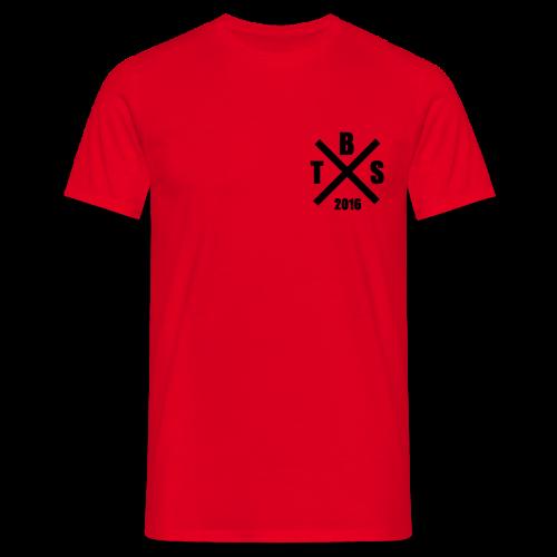 B T S Logo - Männer T-Shirt