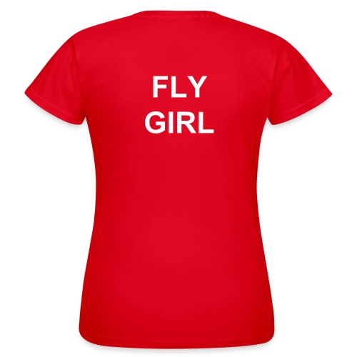 Ladyshirt FLY GIRL - Frauen T-Shirt