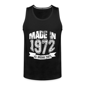 Made in 1972 - Tank top premium hombre
