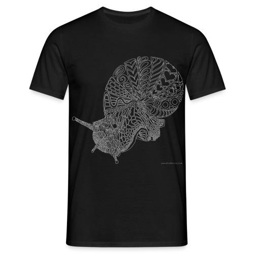 Giant African land snail - Men's T-Shirt