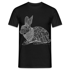 Beautiful bunny - Men's T-Shirt