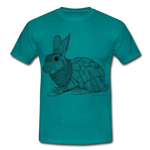 Beautiful bunny - Men's T-Shirt