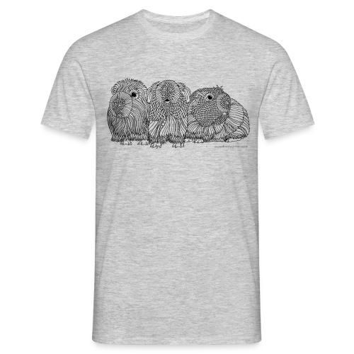 Three guinea pigs - Men's T-Shirt
