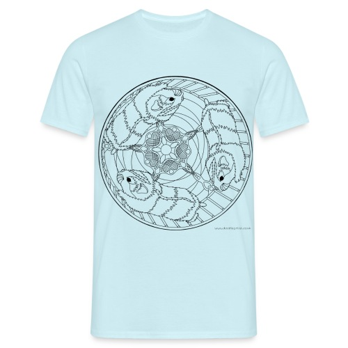 Hamster wheel - Men's T-Shirt
