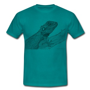 Bearded dragon - Men's T-Shirt