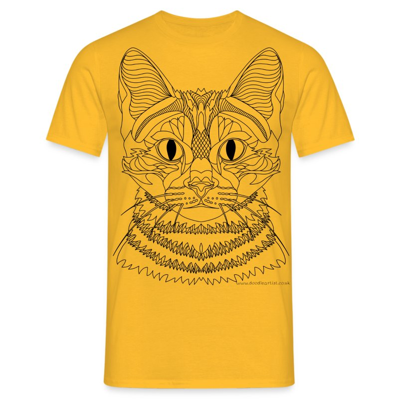 Cat symmetry - Men's T-Shirt