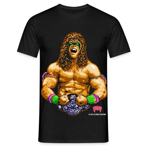 Ultimate Warrior 8-Bit Shirt - Men's T-Shirt