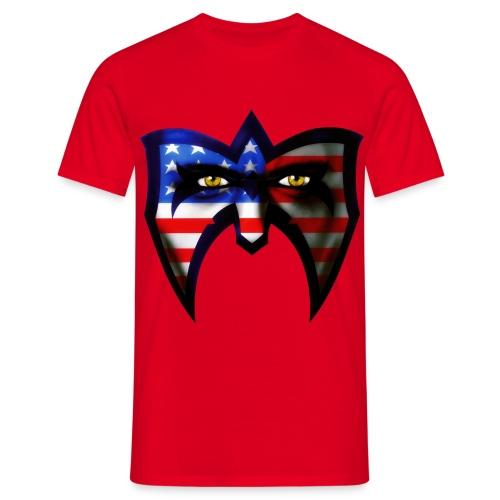 Ultimate Warrior Warrior USA Retro Shirt - Men's T-Shirt