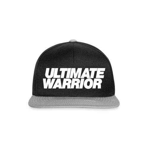 Ultimate Warrior Classic Logo Snap back Cap - Snapback Cap