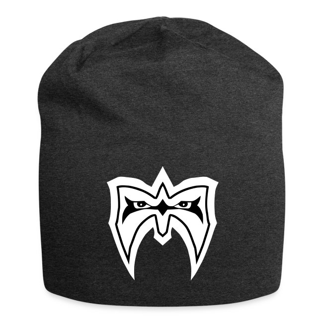 Ultimate Warrior White Mask Jersey Beanie
