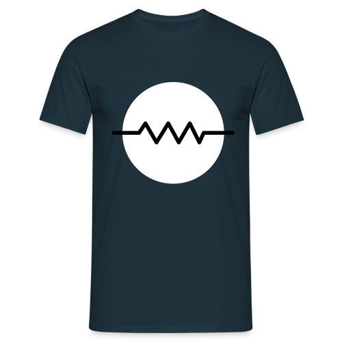 Material Design Resistor - Männer T-Shirt