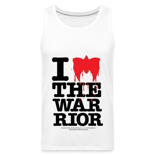 Ultimate Warrior I Love The Warrior Tank Top - Men's Premium Tank Top
