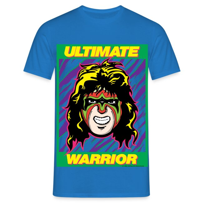 Ultimate Warrior Comic Book Shirt